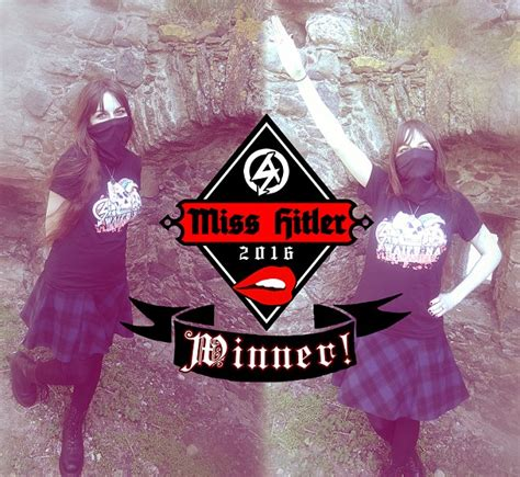 Scottish woman is named Miss HITLER 2016 in neo-Nazi ...