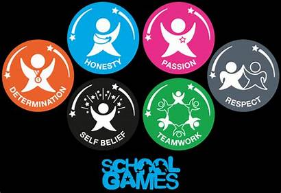 Values Games Pe Spirit Physical Education Sports