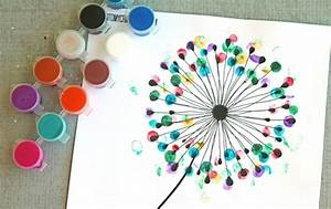 Filzstifte Für Kinder : fingerabdruck bilder gestalten 30 ideen f r erwachsene und kinder ~ Markanthonyermac.com Haus und Dekorationen