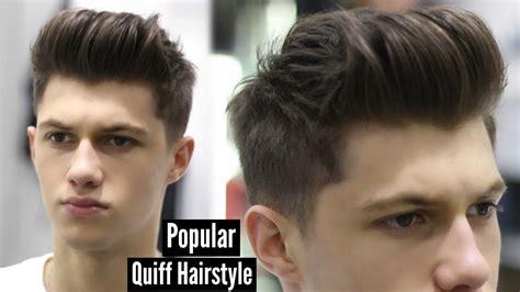 Modern Quiff Hairstyle Tutorial #ad