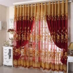 Cheap Living Room Window Curtains