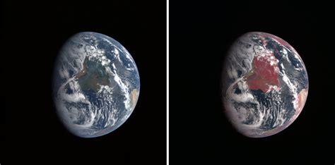 How to Interpret a False Color Satellite Image Earth