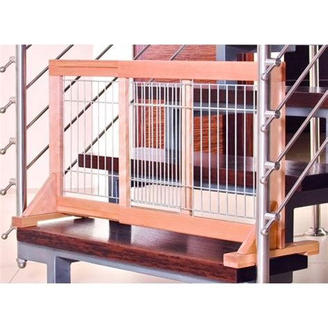 barriere de securite escalier extensible barri 232 re extensible en bois barri 232 re de protection trixie wanimo