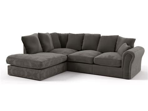 canape angle tissu canapé d 39 angle tissu quot dayana quot 4 5 places gris foncé