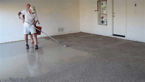apply  epoxy garage floor coating