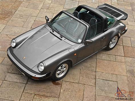 1986 porsche targa for sale 1986 porsche 911 targa 3 2