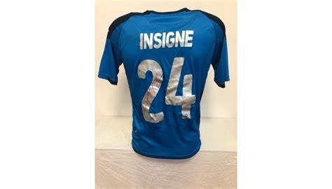 You rub your cheek with a swab we provide you, seal it in a bag (also provided), and mail. Insigne's Official Napoli Signed Shirt, 2019/20 - CharityStars