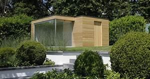 Gartenhaus Design Flachdach : design gartenhaus moderne gartenh user schicke gartensauna auch alsbausatz ~ Sanjose-hotels-ca.com Haus und Dekorationen