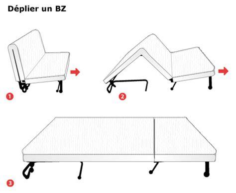dimension d un clic clac matelas bz dimensions et prix ooreka