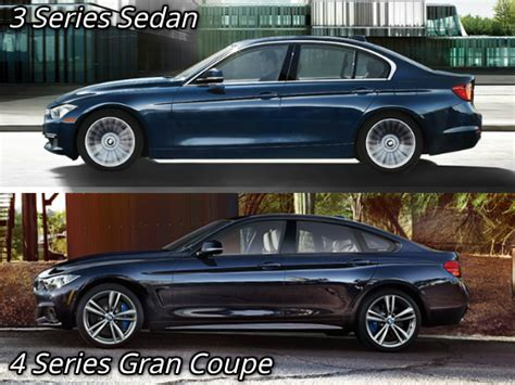 3 Series Vs 4 Series Gran Coupe by The Four Door Bmw 4 Series Gran Quot Coupe Quot Explained