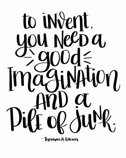 Quote Edison Quotes Repurposed Myrepurposedlife Printable Repeat