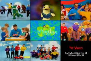 Wiggles Wiggly Safari DVD