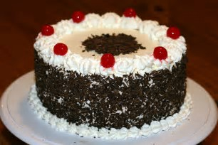 Image result for Black forest cake