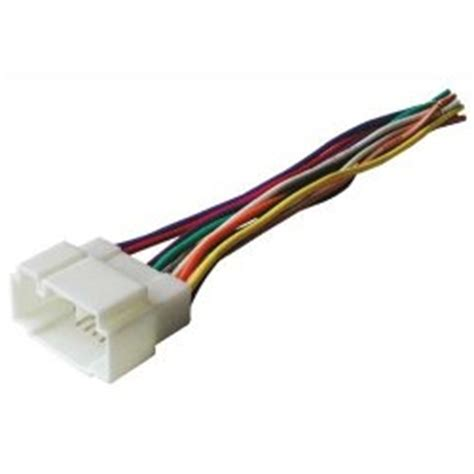 car stereo radio wire harness honda accord