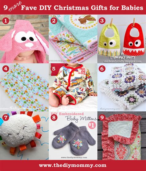 a handmade christmas more diy baby gifts the diy mommy