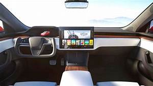 Tesla Debuts Model S Plaid Interior - New Touchscreen? | IE