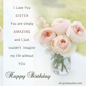 Sister Birthday Poems for Facebook | ... Birthday Wishes ...