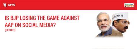 [Report] Is BJP Losing The Game Against AAP on Social ...