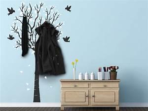 Baum Als Garderobe : wandgarderoben von designscape wandtattoo garderobe beispiele ~ Buech-reservation.com Haus und Dekorationen