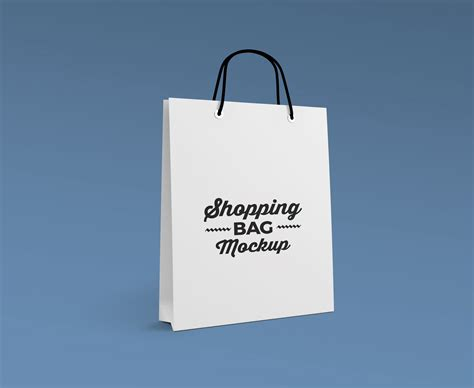 The best free mockups in one place. Free Photorealistic Paper Shopping Bag Mockup PSD - Good ...