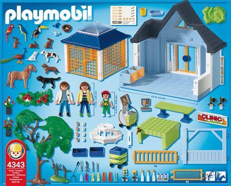 tapis de jeu playmobil playmobil 4343 jeu de construction clinique v 233 t 233 rinaire fr jeux et jouets najah
