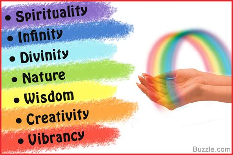 what are the rainbow colors the sequence of colors in a rainbow and their startling