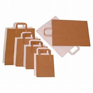 brown paper carrier bag 10 x 155 x 125 100 pack With 12 inch document bag