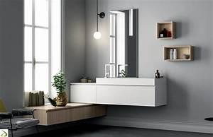 Bagno di design ad angolo Pilone Arredo Design Online