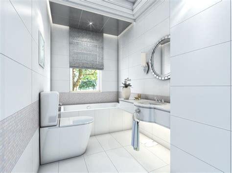 Matt Or Gloss Bathroom Tiles by Spa 12 Quot X 24 Quot White Gloss Wall Tile Master Bath
