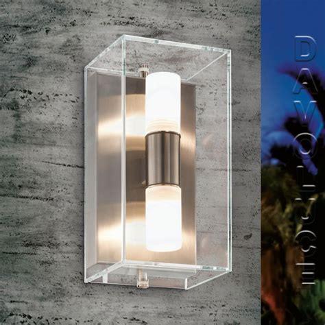 eglo 94124 benaco ip44 led outdoor wall light davoluce