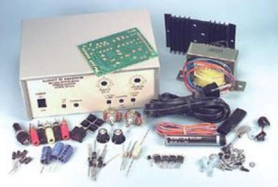 New Variable Regulated Power Supply Kit Short Circuit