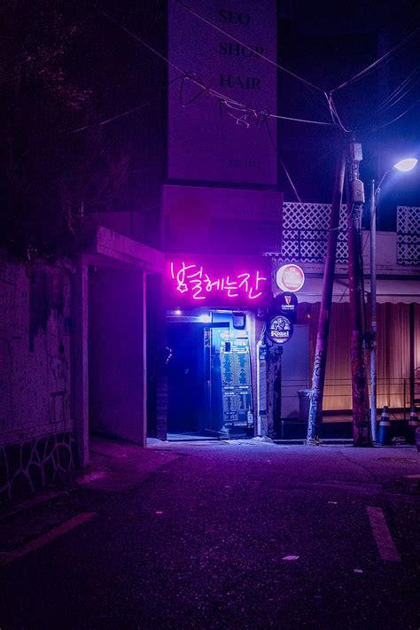 Cyberpunk, purple, fantasy art, city, fantasy city, concept art. Cyberpunk Aesthetic 4k Wallpapers - Wallpaper Cave