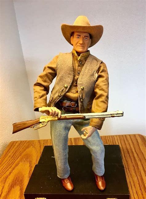 john wayne  scale cowboy custom action figure