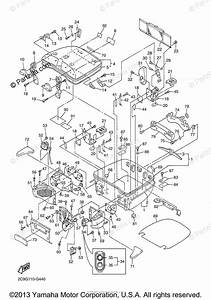 Yamaha Motorcycle 2009 Oem Parts Diagram For Travel Bag