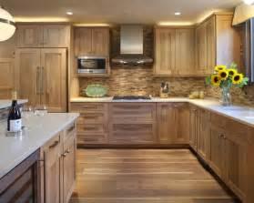 oak cabinet backsplash home design ideas pictures