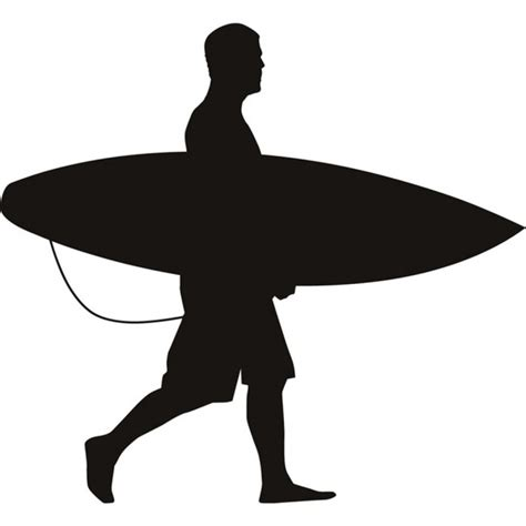 surfer wall sticker beach wall art
