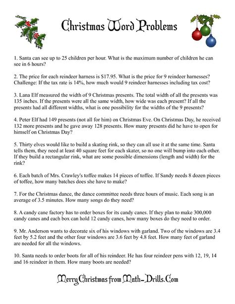 word problems math worksheet freemath planning