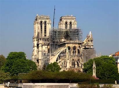 Dame Notre Cathedral Restoration Renovation Architect Scaffolding