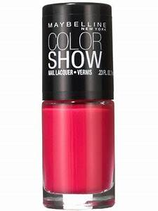 Application Email Maybelline New York Color Show Nail Lacquer Review