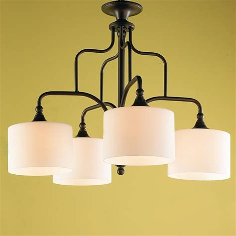 modern chandelier shades modern drum shade downlight kitchen chandelier l