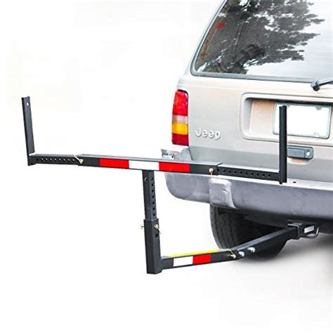 Truck Bed Boat Carrier by Up Truck Bed Hitch Extender Extension Rack Canoe Boat