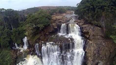 dji phantom flying  zongo falls  congo river  drc youtube