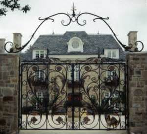 colonial home designs period gates estate entrance reproduction gates