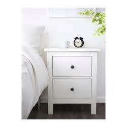 hemnes chest of 2 drawers white stain 54x66 cm ikea