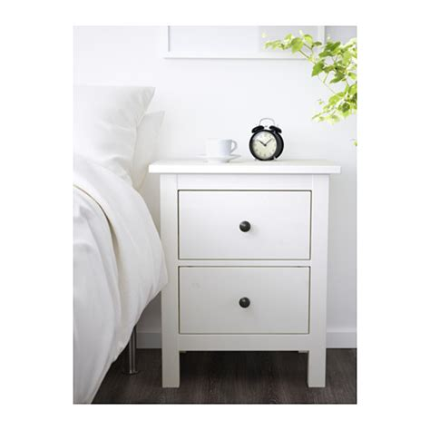 ikea hemnes desk with 2 drawers hemnes chest of 2 drawers white stain 54x66 cm ikea