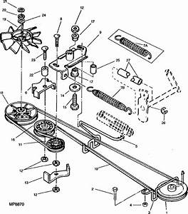 28 John Deere L118 Drive Belt Diagram