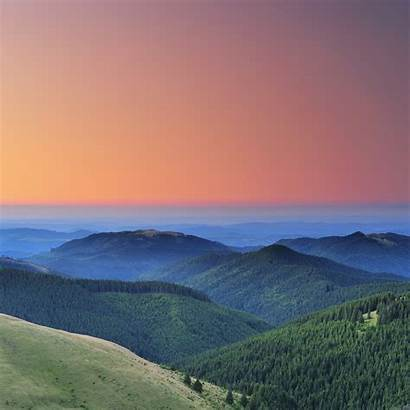 Iphone Nature Ipad Mountain Wallpapers Sunset Romania