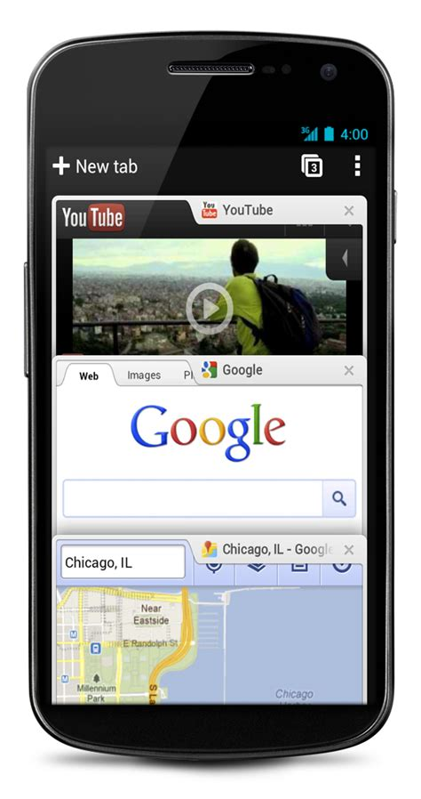 chrome android chrome beta for android 4 0 available