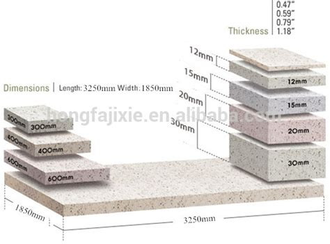 Corian Thickness Korean Solid Surface Table Top Best Quality Quartz