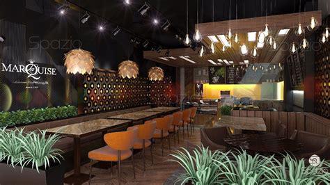 Great Kitchen Ideas - cafe restaurant interior design in dubai spazio